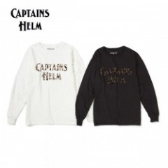 CAPTAINS HELM/キャプテンズヘルム #LEOPARD LOGO LS TEE/ロングスリーブTシャツ・2color