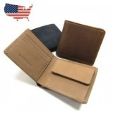 USA NUBUCKLEATHER WALLET/USAヌバックレザーウォレット・3color