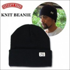 SEVENTY FOUR(セブンティーフォー) KNIT BEANIE(ニット帽) 【3color】