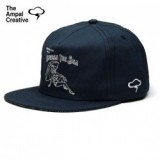 「MADE IN USA」THE AMPAL CREATIVE/ザ・アンパル・クリエイティブ ACROSS THE SEA Strapback - Navy