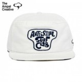 「MADE IN USA」THE AMPAL CREATIVE/ザ・アンパル・クリエイティブ SOCIAL SURF CLUB Snapback - White