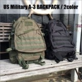 US Military A-3 BACKPACK/アメリカ軍A-3バッグパック・2color