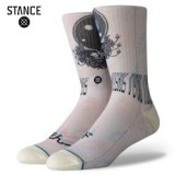 GRATEFUL DEAD×STANCE/スタンスソックス STEAL YOUR FACE・NATURAL 当日発送