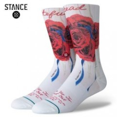 GRATEFUL DEAD×STANCE/スタンスソックス FIND OUT・WHITE