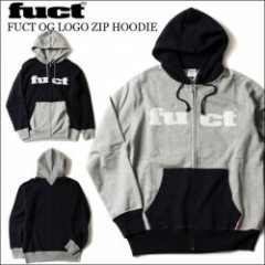 FUCT SSDD/ファクト FUCT OG LOGO ZIP HOODIE/ジップアップパーカー・2color