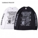 GARBAGE WAGON / GARBAGE WAGON LS TEE/ロングスリーブTシャツ・2color