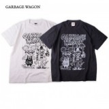 GARBAGE WAGON / GARBAGE WAGON LOGO TEE/ロゴTシャツ・2color