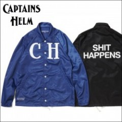 "CAPTAINS HELM/キャプテンズ・ヘルム 2016S/S新作 COACH JKT ""SPIT""/コーチジャケット 2color"