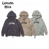 CAPTAINS HELM/キャプテンズヘルム #TM LOGO PIGMENT HOODIE/ロゴピグメントフーディー・3color