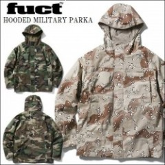 FUCT SSDD/ファクト 2017春夏 HOODED MILITARY PARKA/フィールドパーカー・2color