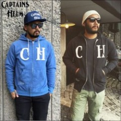 "CAPTAINS HELM/キャプテンズ・ヘルム 2016S/S新作 ZIP-UP HOODIE ""ST.LEU""/ジップアップパーカー・2color"