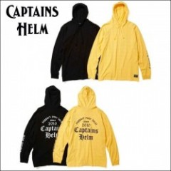 CAPTAINS HELM/キャプテンズヘルム #CH SUPPORT HOOD LS TEE/フーディーロングスリーブTシャツ・2color
