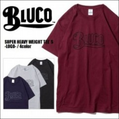 BLUCO WORK GARMENT/ブルコ SUPER HEAVY WEIGHT TEE' S -LOGO-/Tシャツ・4color