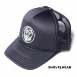 GOIN'WHERE THE WIND DON'T BLOW CAP (SHOVEL HEAD)/キャップ・BLACK