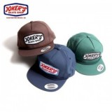 JOKERS SKATE SHOP/ジョーカーズスケートショップ CLASSIC LOGO PATCH ROPE SNAP BACK/キャップ・3color