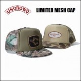 UNCROWD/アンクラウド LIMITED MESH CAP/メッシュキャップ・2color