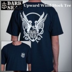 LOSER MACHINE/DARK SEAS(ルーザーマシーン) 2014' Upward Wind Stock Tee(Tシャツ) 【NAVY】