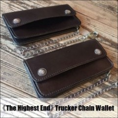 THE HIGHEST END/ザ・ハイエストエンド Trucker Chain Wallet/トラッカーウォレット・2color