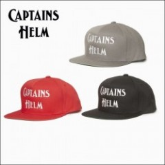 CAPTAINS HELM/キャプテンズ・ヘルム 2017'SS #CH LOGO SNAP-BACK/キャップ・3color
