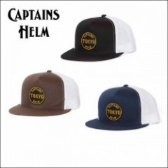 CAPTAINS HELM/キャプテンズヘルム #TOKYO WAPPEN CAP/メッシュキャップ・3color