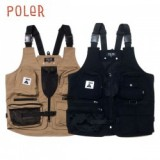POLER/ポーラー CAMP VIBES POCKET VEST/アウトドアベスト・2color