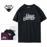 BLUCO WORK GARMENT/ブルコ PRINT TEE'S -think safely-/Tシャツ OL-806-020・3color