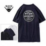 BLUCO WORK GARMENT/ブルコ POCKET TEE'S -stamp logo-/ポケットTシャツ OL-808-020・3color