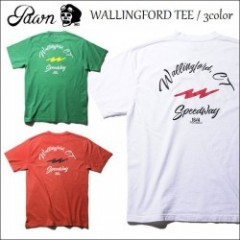 PAWN/パウン 2017'春夏 WALLINGFORD TEE /Tシャツ・3color
