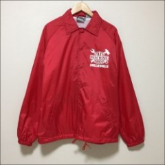 PATS MACHINE SHOP COACH JACKET/コーチジャケット・RED