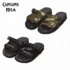 BROTHER BRIDGE×CAPTAINS HELM/キャプテンズヘルム #SHARK SOLE MILITARY SANDAL/サンダル・2color