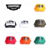 CHOPPERS MAGAZINE/チョッパーズマガジン CHOPPERS BADGE TRUCKER/メッシュキャップ・7color