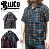 BLUCO WORK GARMENT/ブルコ WORK SHIRTS S/S -P.Check/ワークシャツ・3color