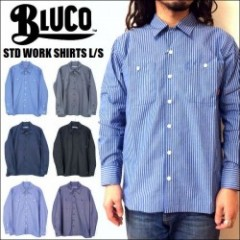 BLUCO WORK GARMENT/ブルコ STD WORK SHIRTS LS/長袖ワークシャツ・6color