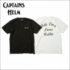 CAPTAINS HELM/キャプテンズ・ヘルム 2017'SS #MIKI DORA TEE/Tシャツ 2color