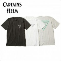 CAPTAINS HELM/キャプテンズ・ヘルム 2017'SS #TRIANGLE LOGO TEE/Tシャツ・3color