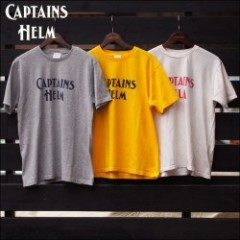 CAPTAINS HELM/キャプテンズヘルム LOGO VINTAGE TEE/ロゴTシャツ・3color