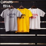 CAPTAINS HELM/キャプテンズヘルム #LOGO VINTAGE KIDS TEE/ロゴTシャツ・3color