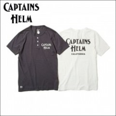 CAPTAINS HELM/キャプテンズ・ヘルム 2017'SS ##USA MADE HENLEY TEE -CALIFORNIA/ヘンリーネックTシャツ・2color
