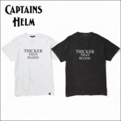 CAPTAINS HELM/キャプテンズヘルム Pirates #THICKER THAN BLOOD TEE/Tシャツ・2color