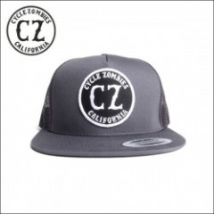 CycleZombies/サイクルゾンビーズ CALIFORNIA Twill Trucker Hat/メッシュキャップ・GRAY