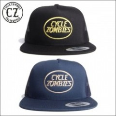 CycleZombies/サイクルゾンビーズ BLACK MEMBER Twill Snapback Hat/メッシュキャップ・2color