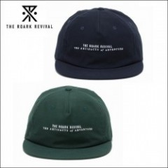 THE ROARK REVIVAL/ロアーク リバイバル COTTON LOGO CAP/キャップ・2color