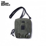 THE BROWN BUFFALO/ザ・ブラウンバッファロー SPECIAL DELIVERY/ショルダーポーチ・OLIVE
