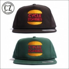 CycleZombies/サイクルゾンビーズ BURGER Snapback Hat/キャップ・2color