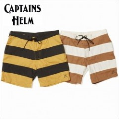 CAPTAINS HELM/キャプテンズ・ヘルム 2016'SS #KAISERS/ボーダースイムショーツ 2color