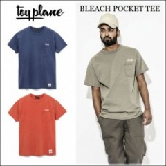 TOYPLANE/トイプレーン 2016'夏物新作 BLEACH POCKET TEE/Tシャツ・2color
