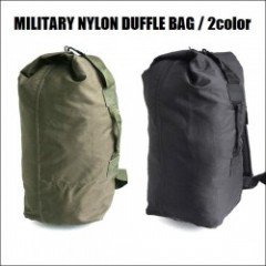MILITARY NYLON DUFFLE BAG/ミリタリーナイロンダッフルバッグ・2color