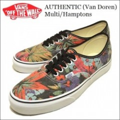 VANS USA・バンズ AUTHENTIC (Van Doren) Multi/Hamptons・オーセンティック