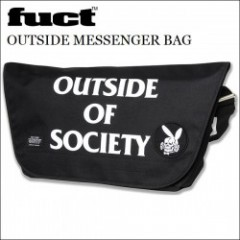 FUCT SSDD/ファクト OUTSIDE MESSENGER BAG/メッセンジャーバッグ・BLK/WHT