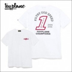 "TOYPLANE/トイプレーン 2016'夏物新作 ""CHAMPIONS"" TEE/Tシャツ・WHITE/RED"